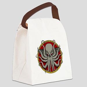 Cthulhu Sigil Canvas Lunch Bag