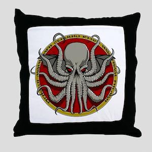 Cthulhu Sigil Throw Pillow