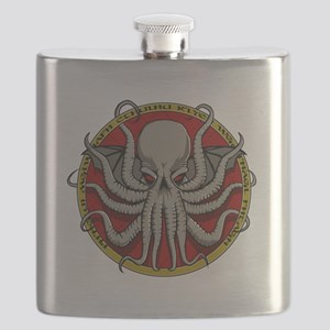 Cthulhu Sigil Flask