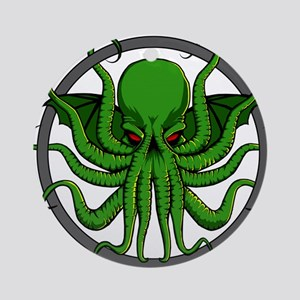 Cthulhu Rising Ornament (Round)