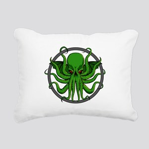 Cthulhu Rising Rectangular Canvas Pillow