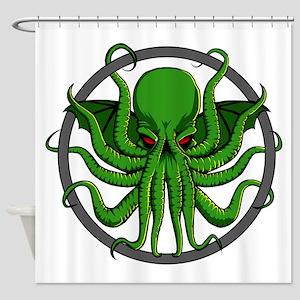 Cthulhu Rising Shower Curtain