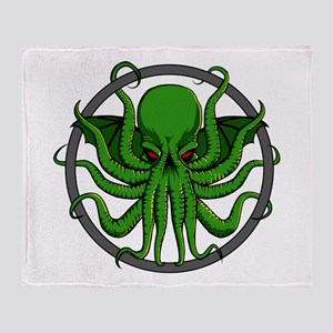 Cthulhu Rising Throw Blanket