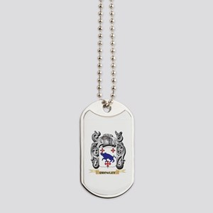 Crowley Family Crest - Crowley Coat of Ar Dog Tags