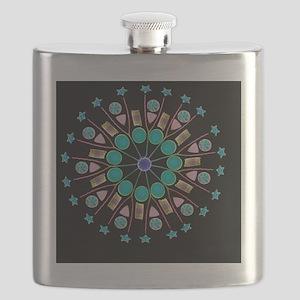 Diatom assortment, SEMs - Flask