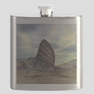 Dimetrodon, artwork - Flask