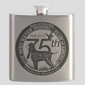 IWSCA Diamond Jubilee Logo Flask