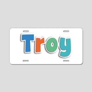 Troy Spring11B Aluminum License Plate
