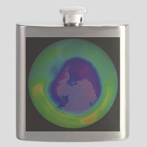 Antarctic ozone hole, 2007 - Flask
