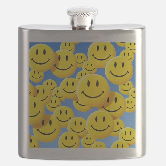 Smiley face symbols - Flask