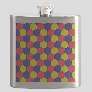 Uniform tiling pattern - Flask