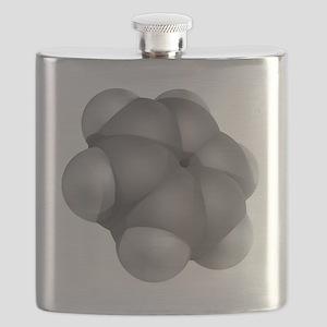 Benzene, molecular model - Flask