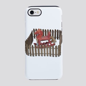 Rocking Horse in Paddock iPhone 7 Tough Case
