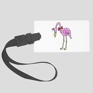 FBC Flamingo ONLY Large Luggage Tag