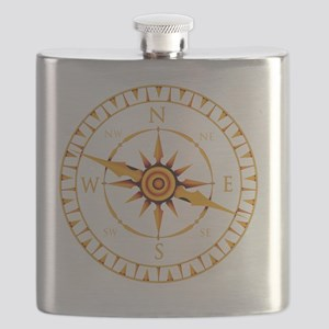 Compass rose - Flask
