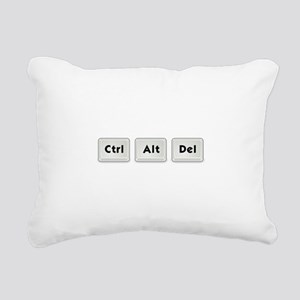 Ctrl Alt Del Key Rectangular Canvas Pillow