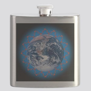 Greenhouse effect, conceptual image - Flask