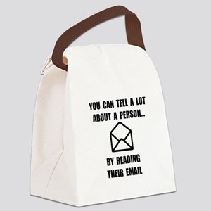 Read Their Email Canvas Lunch Bag