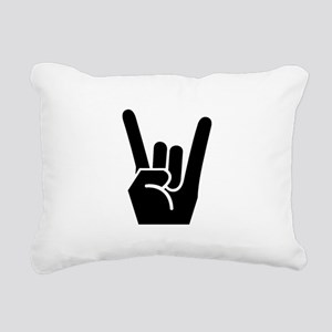 Rock Fingers Black FBC Rectangular Canvas Pill