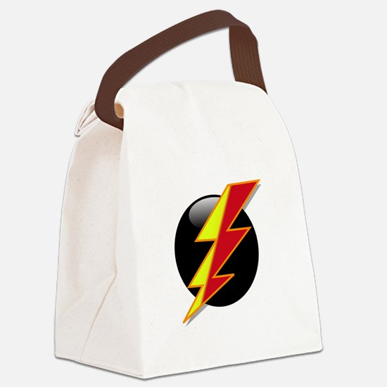 Flash Two Tone.png Canvas Lunch Bag