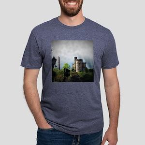 Edinburgh, Scotland Mens Tri-blend T-Shirt
