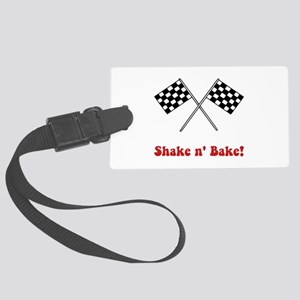 Shake Bake Red Large Luggage Tag