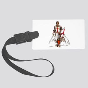 Templar Knight Red Large Luggage Tag