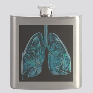 Lungs, artwork - Flask