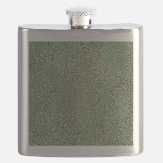 Manchester and environs, aerial view - Flask