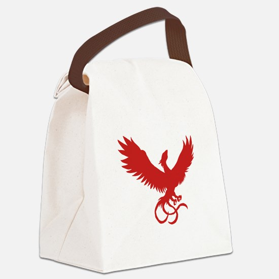 Phoenix Red.png Canvas Lunch Bag