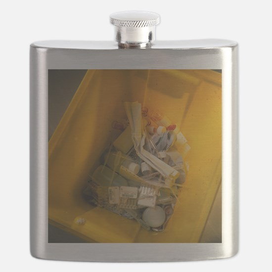 Clinical waste bin - Flask