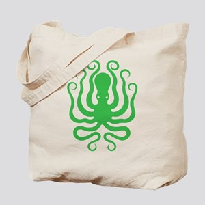 A cool octopus graphic tee t-shirt design Tote Bag