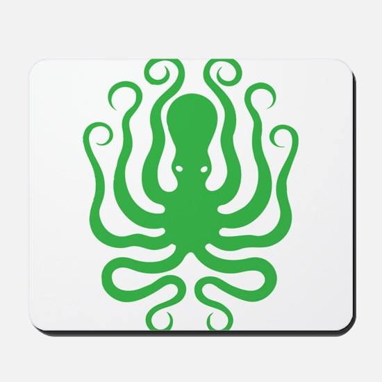 A cool octopus graphic tee t-shirt design Mousepad
