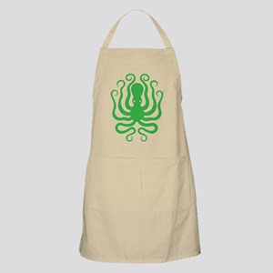 A cool octopus graphic tee t-shirt design Apron
