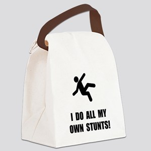 Do All My Own Stunts Canvas Lunch Bag