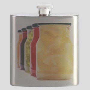 Food in jars - Flask