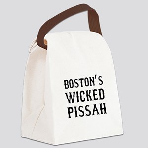 Boston Wicked Pissah Canvas Lunch Bag