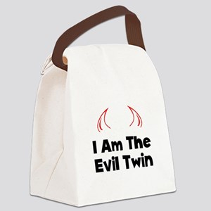 Evil Twin Black Canvas Lunch Bag