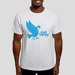 Sad Harpy Design Light T-Shirt