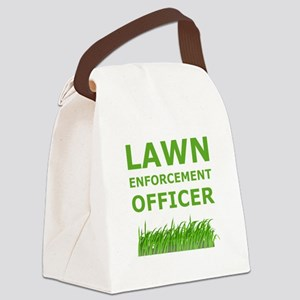 Lawn Offier Green Canvas Lunch Bag