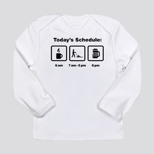 Lawn Mowing Long Sleeve Infant T-Shirt