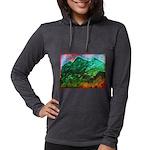 Green Mountains Womens Hooded Shirt