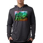 Green Mountains Mens Hooded Shirt