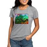 Green Mountains Womens Tri-blend T-Shirt
