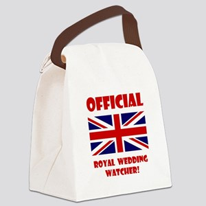 Official Royal Watcher Red Canvas Lunch Bag