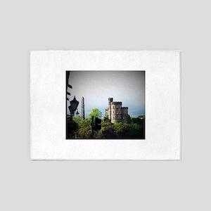 Edinburgh, Scotland 5'x7'Area Rug