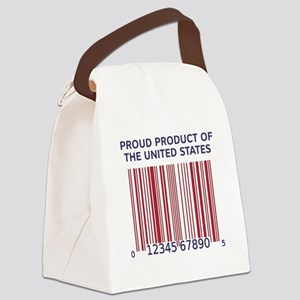 Barcode United States Canvas Lunch Bag