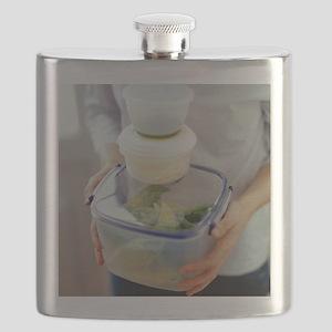 Salad ingredients - Flask