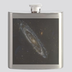 Andromeda Galaxy, UV image - Flask