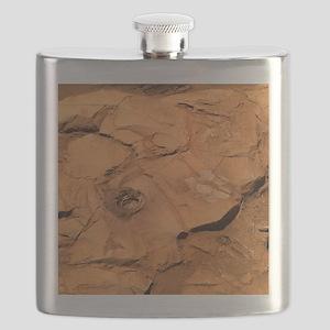 Clovis rock, Mars - Flask